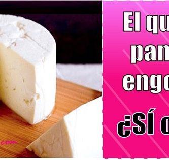 el queso panela engorda