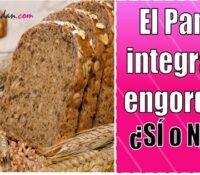 cuantas calorias tiene el pan integral