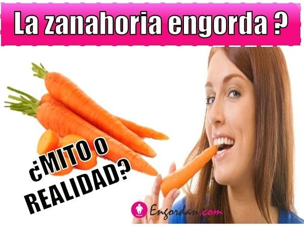 cuantas calorias tiene la zanahoria