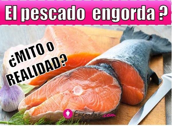 cuantas calorias tiene el pescado