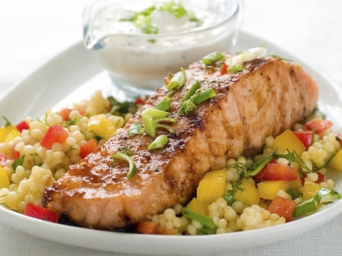 comer pescado engorda