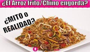 el arroz frito engorda