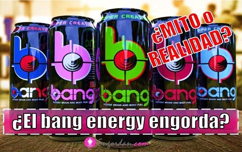 cuantas calorias tiene el bang energy