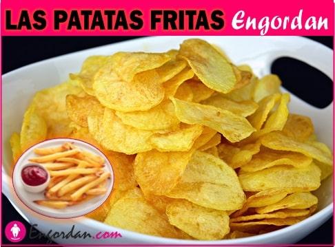 Calorias de las patatas fritas